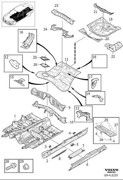Shop Volvo XC60 Genuine Body and Interior Accessories