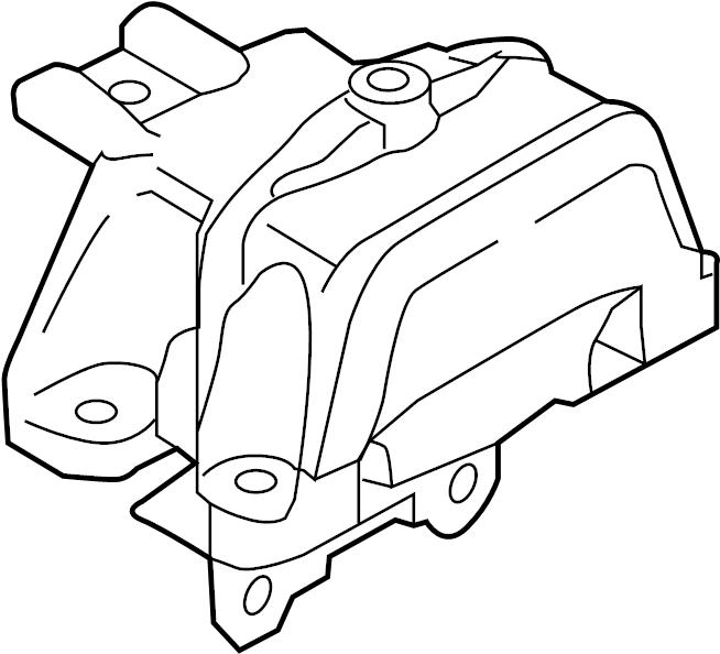 Mitsubishi Outlander Automatic Transmission Mount