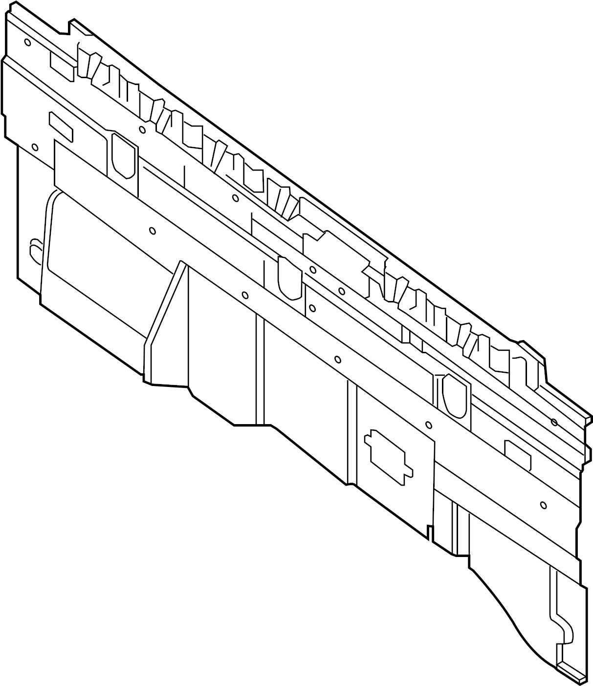 Nissan Titan Finisher Panel. (Rear). CLOTH, POWER, BACK