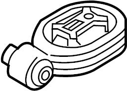 Nissan Juke Engine Support Rod. TRANSMISSION, MOUNTING