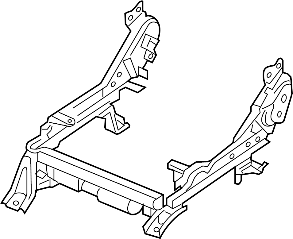 Nissan Xterra Seat Track Adjust Mechanism (Right, Front