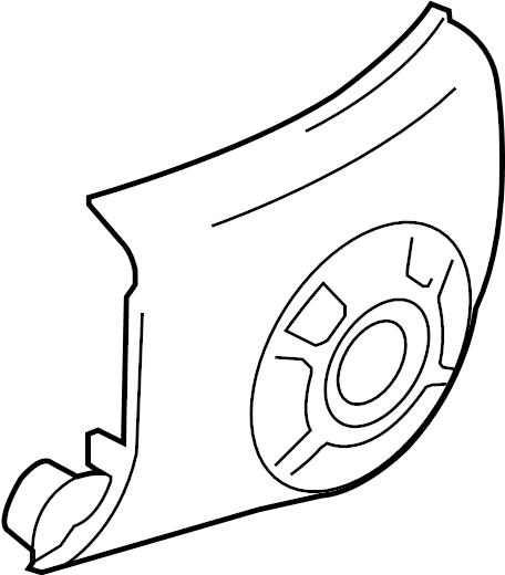 Nissan Cube Instrument Panel Bezel. AIR, CONDITIONER, AUTO