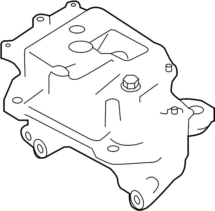 Nissan Juke Engine Mount (Left). MCVT, TRANSMISSION