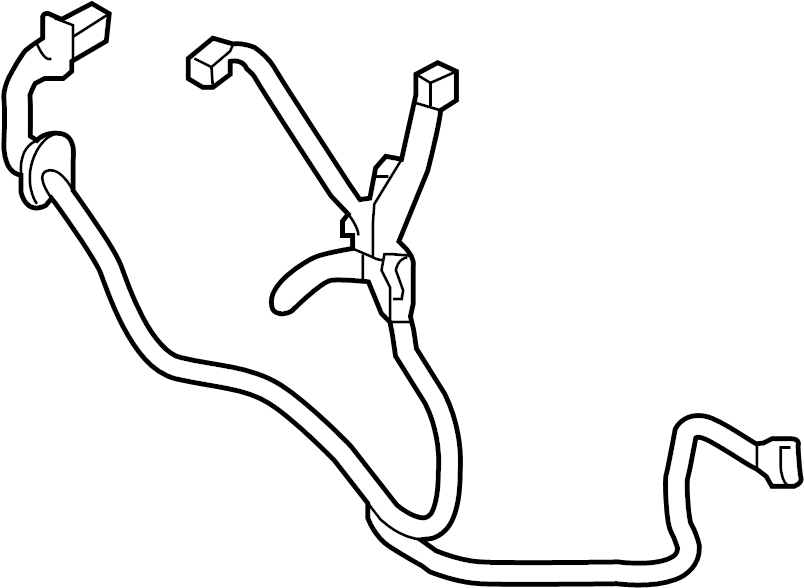 Nissan Sentra Door Wiring Harness (Right, Rear). Other