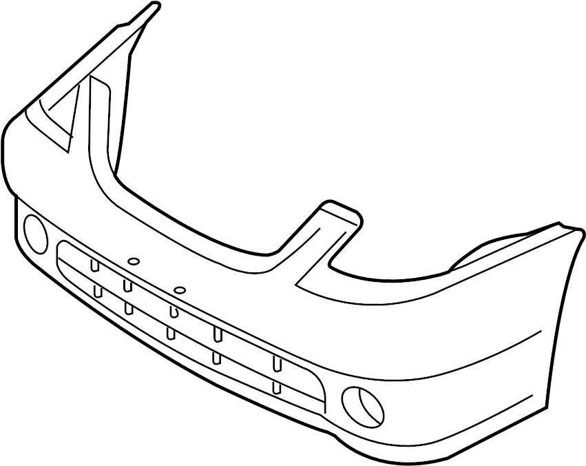 Nissan Altima Bumper Cover (Front). Trim, Interior, Body