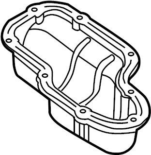 Nissan Titan Engine Oil Pan. ASSEMBLY, COMPONENT, MADE