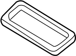 Nissan Pathfinder Seal B. (Lower). UNIT, HEATER, AIR