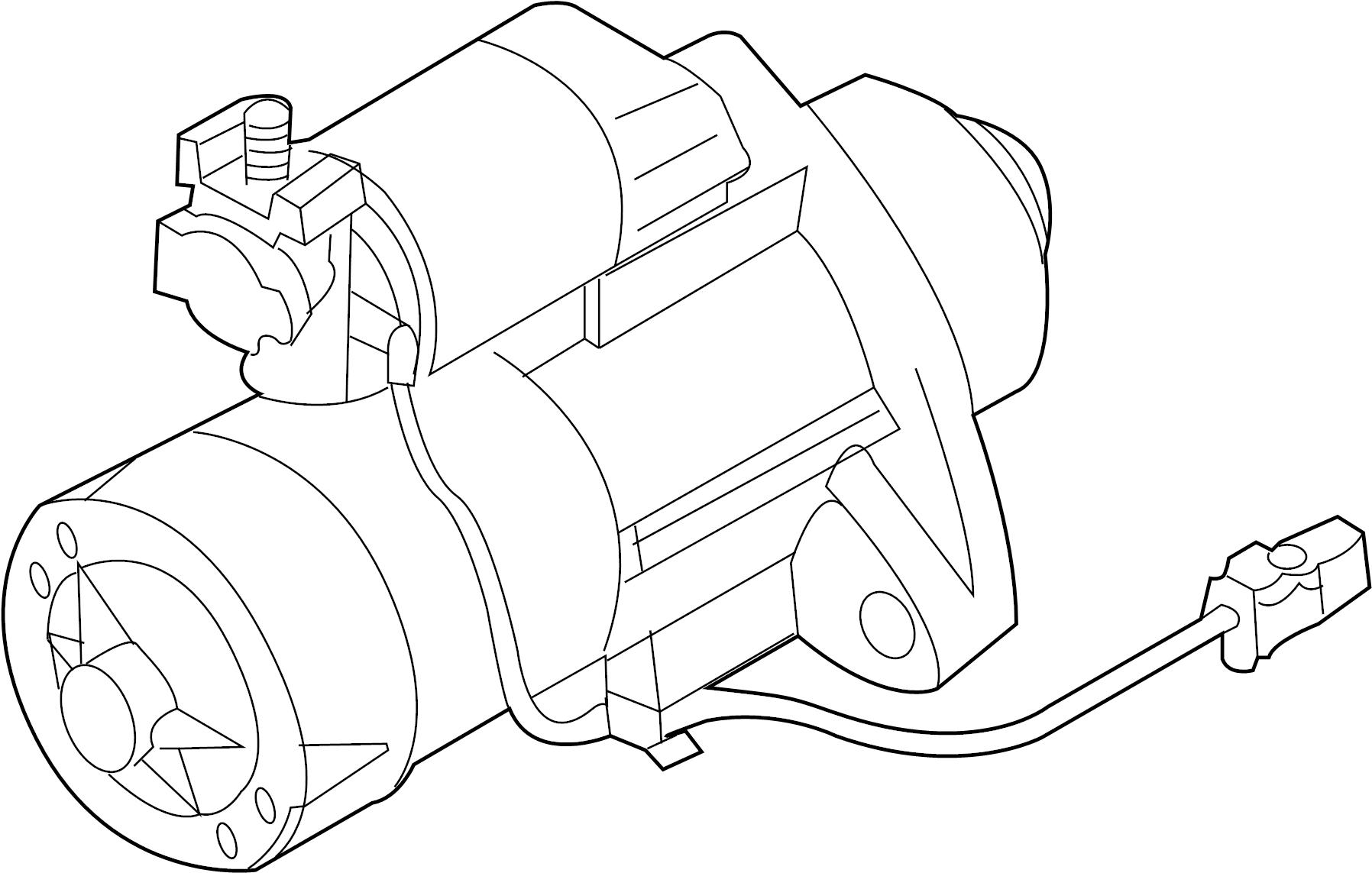 Nissan 370z Starter Motor Hitachi Sports
