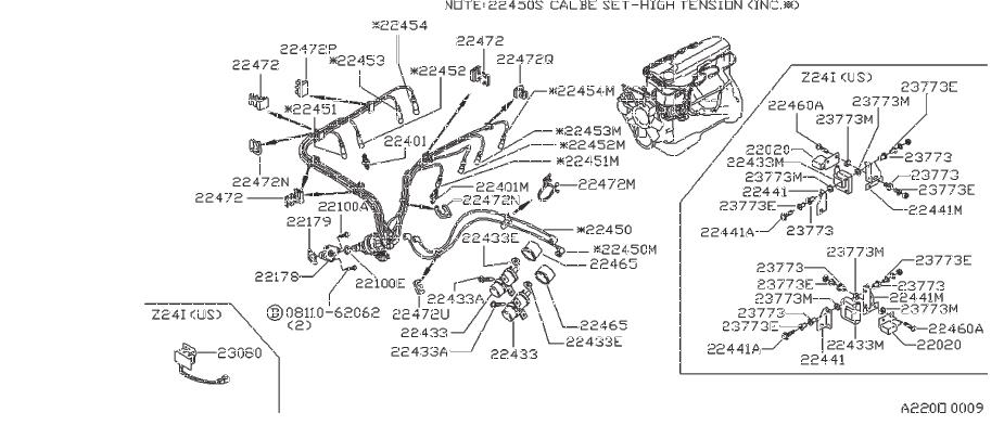 Datsun 310GX Plug Spark (Ngk Bp6Es). CAL, HATCHBACK