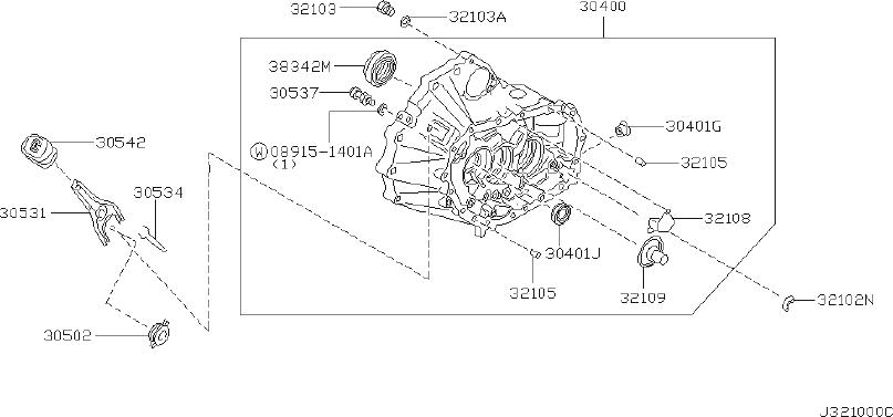 Nissan Altima Seal Oil, Differential Transmission Case