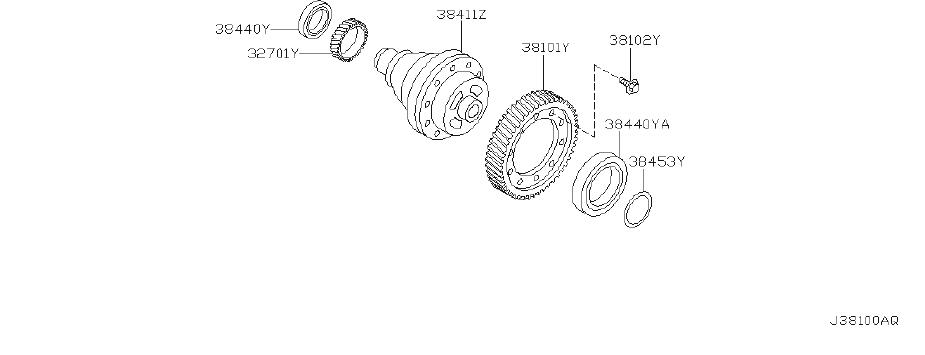 Nissan Maxima Manual Transmission Differential. DRIVE