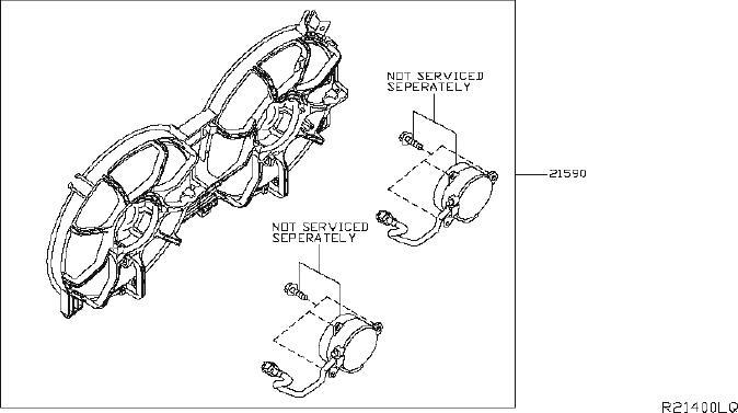 Nissan Maxima Engine Coolant Reservoir Overflow Hose Clamp