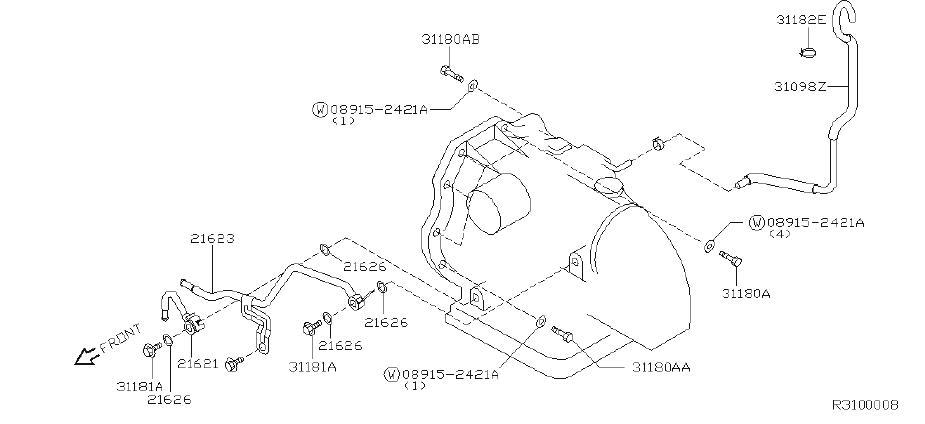 Nissan Sentra Bolt Transfer Fix Transfer Transmission Fix