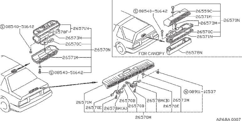 Nissan Xterra Bolt Hex. TRANSMISSION, FITTING, ENGINE