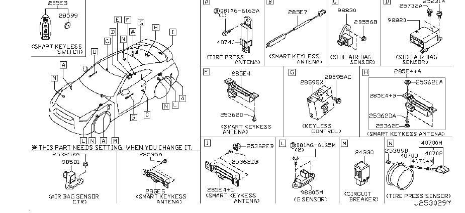 Nissan GT-R Controller 6CH Can Gateway. BODY, Electrical
