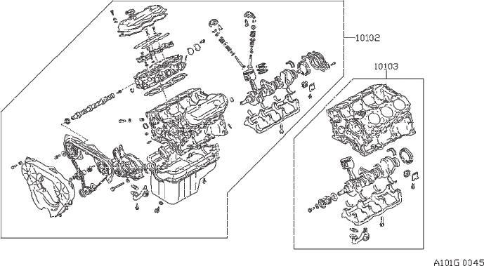 Datsun PICKUP Bolt Pulley, Crankshaft. ILLUSTRATION