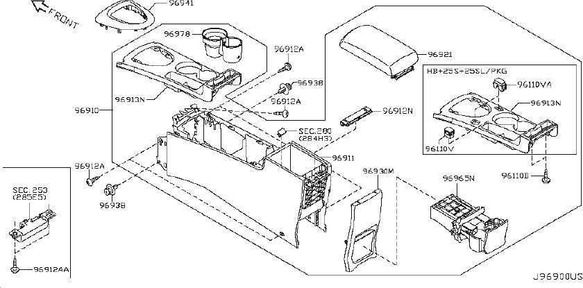 Nissan Rogue Automatic Transmission Shift Indicator