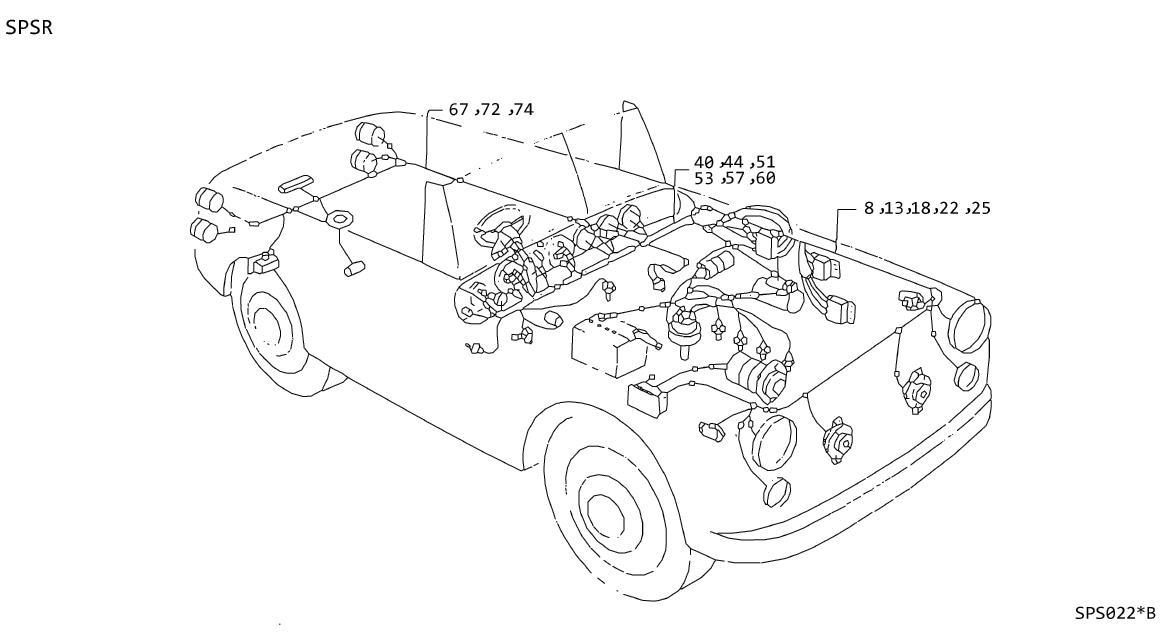 Datsun 510 Bulb (12V, 1.5W). Bulb (12V.3W). Lamp