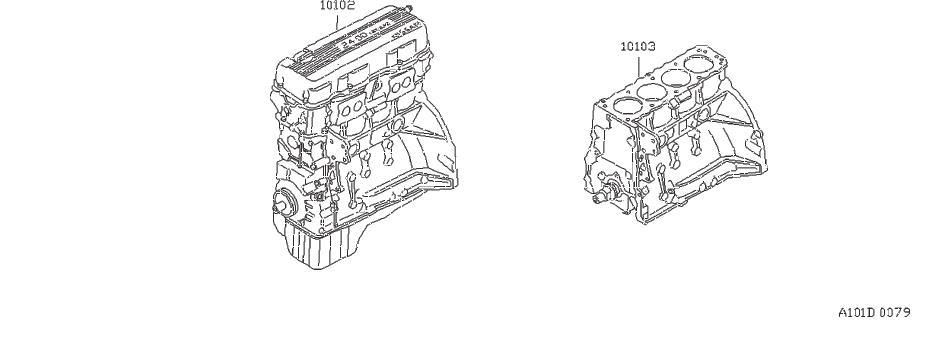 Datsun PICKUP Bolt Tensioner. CAMSHAFT, ENGINE, CYLINDER