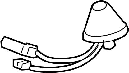 Lexus RX 350 Bracket, navigation antenna. Fill