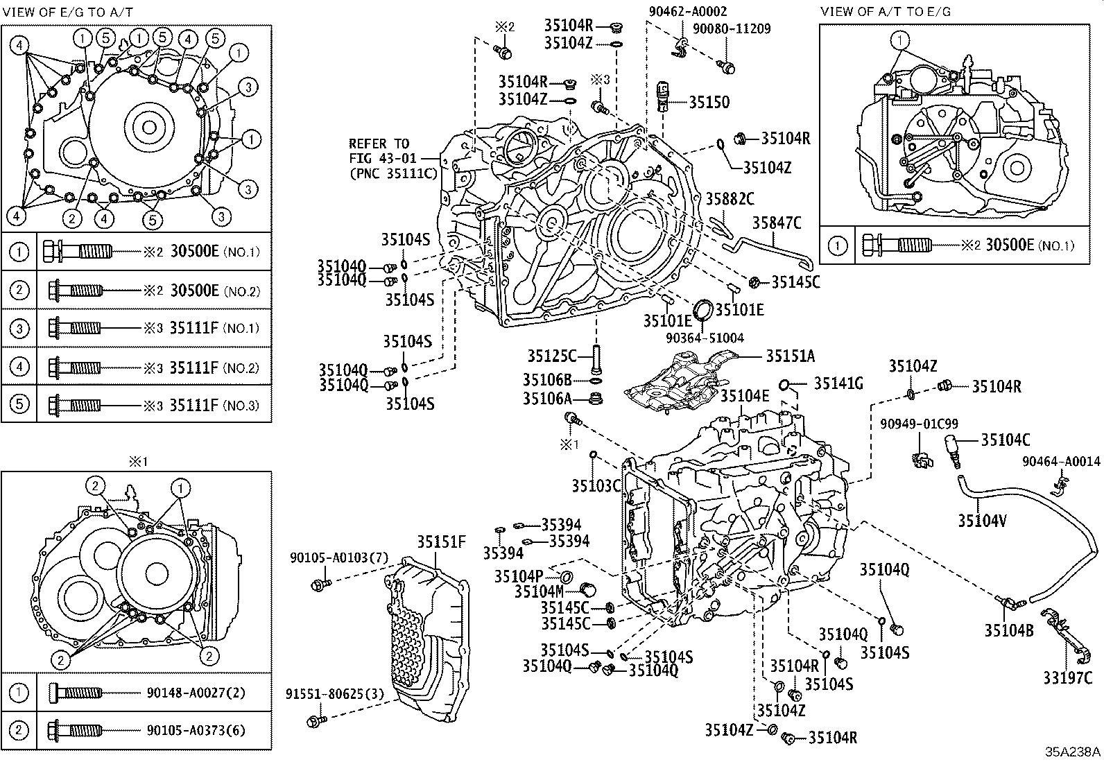 Lexus Es 350 Plug Assembly Transmission Case Driveline