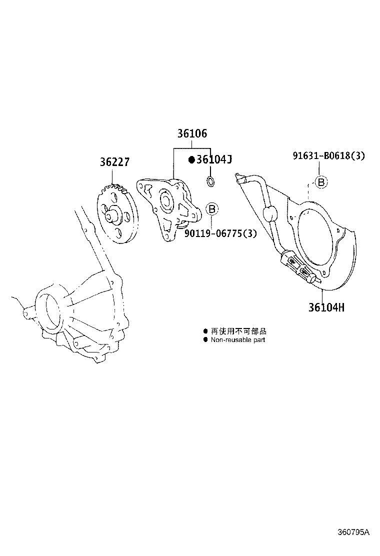 Lexus GX 470 Gear, transfer oil pump. Edition, driveline