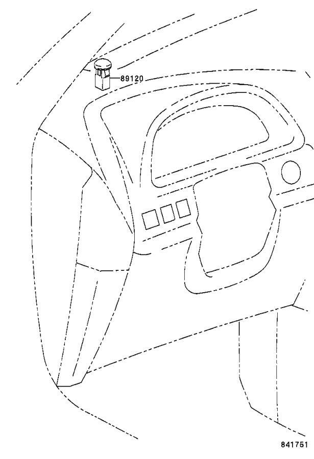 Lexus RX 300 Ambient Light Sensor. Sensor, Automatic Light