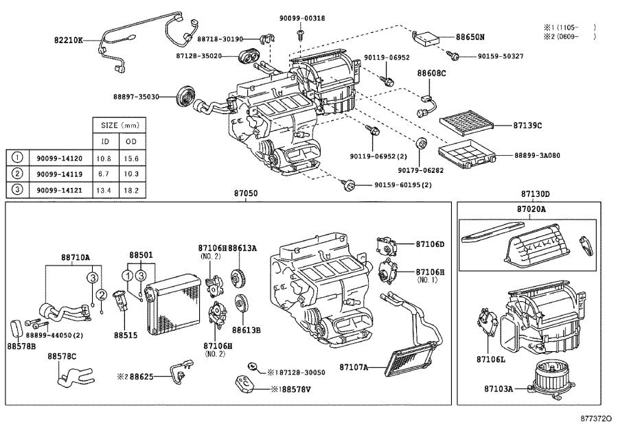 Lexus GS 350 Amplifier assembly, air conditioner