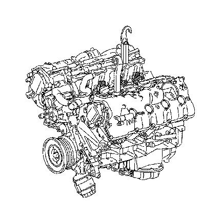 Lexus GS 350 Engine Variable Valve Timing (VVT) Solenoid