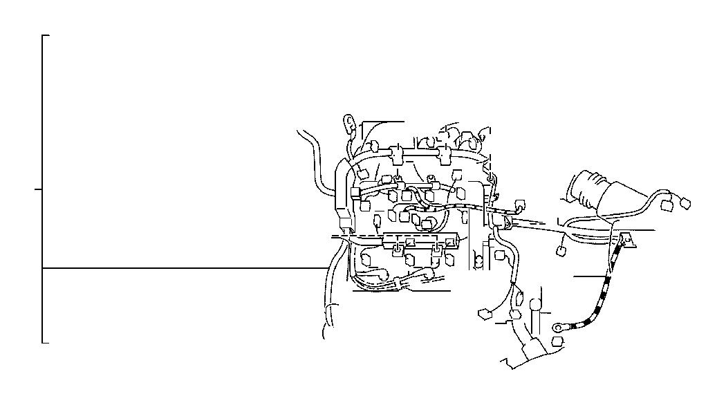 Lexus ES 300 Battery Cable. Wire, Engine, NO.2