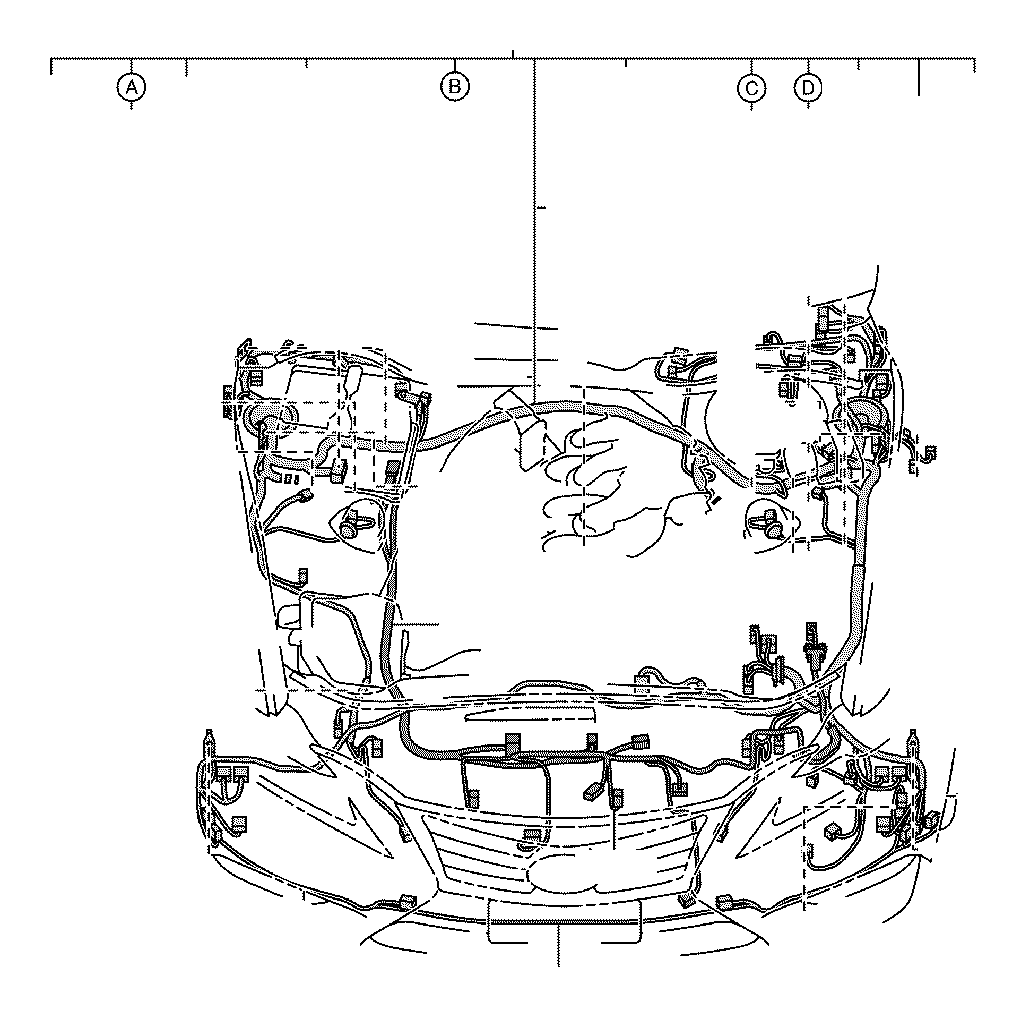 Lexus IS 250 Protector, wiring harness, no. 3. Engine