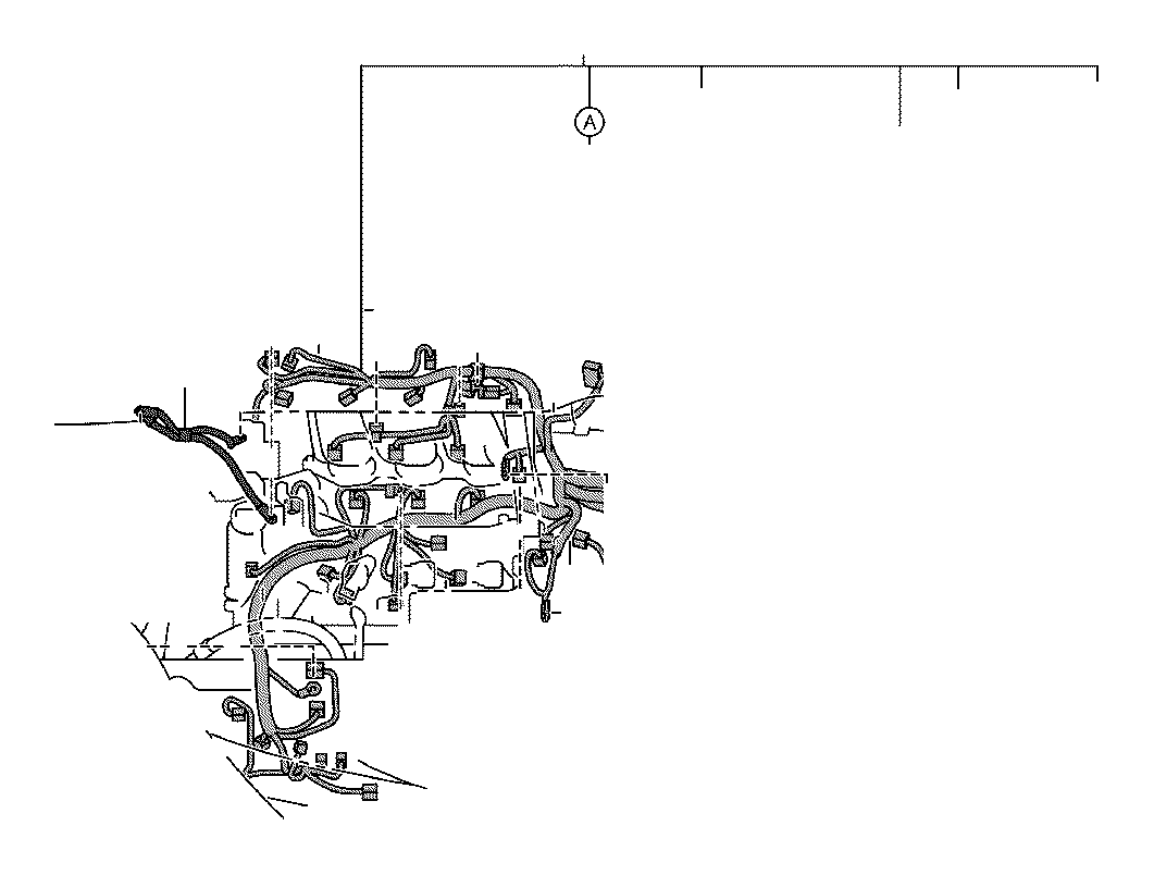 Lexus RX 350 Cover. Wiring harness protector; wiring