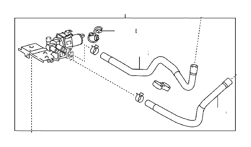 Lexus GS 450h Harness sub-assembly, wiring air indicator