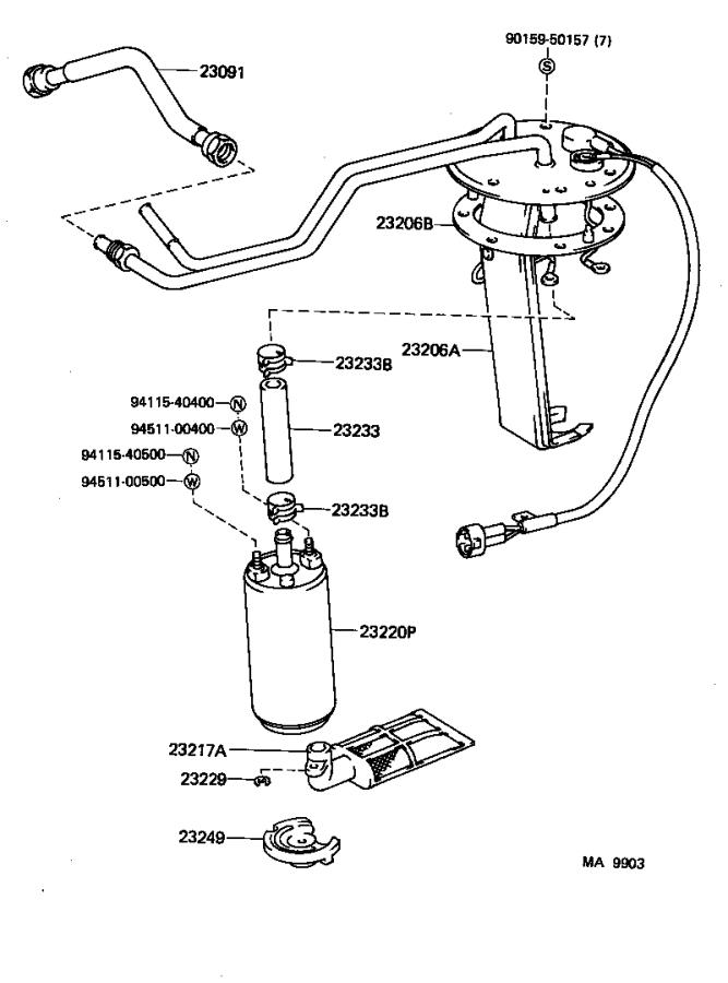Toyota Land Cruiser Fuel Injection Idle Air Control Valve