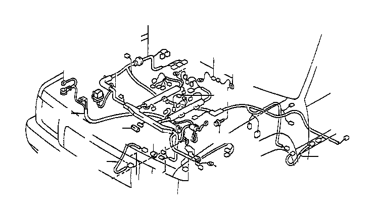 Toyota T100 Cover, connector. Atm, electrical, wiring