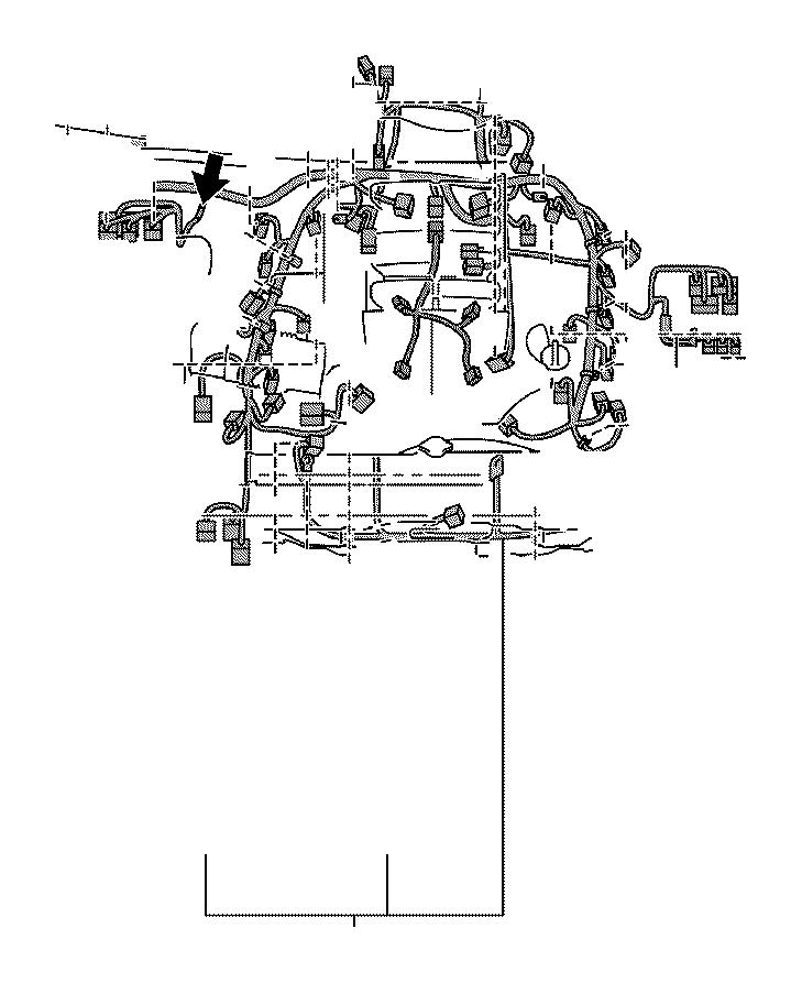 Toyota Sequoia Wire, engine, no. 2. Clamp, connector