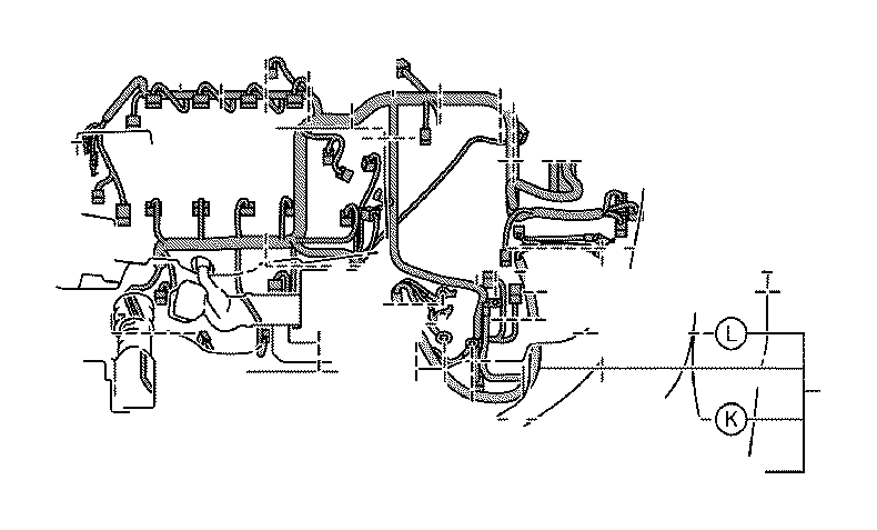 Toyota Prius Battery Cable. Wire, Engine, NO.3. ROOF