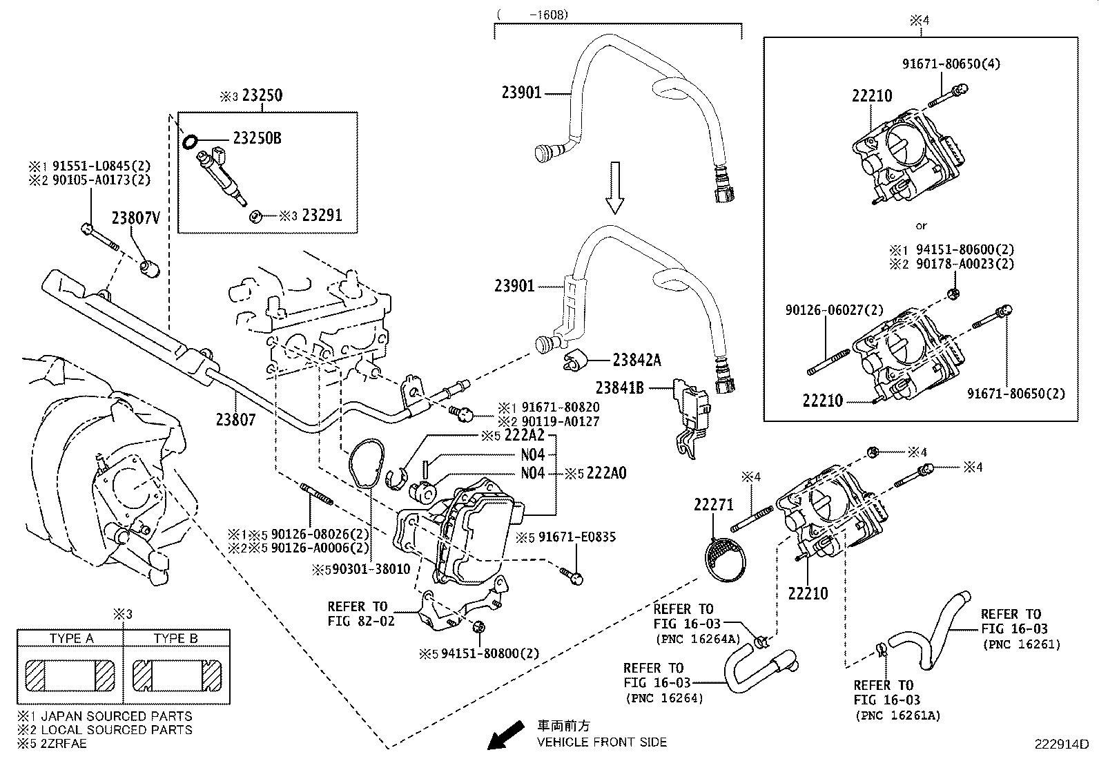 Toyota Corolla Engine Variable Valve Timing (VVT) Solenoid