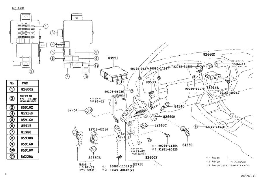 Toyota Sequoia Switch assembly, main. Engine, electrical