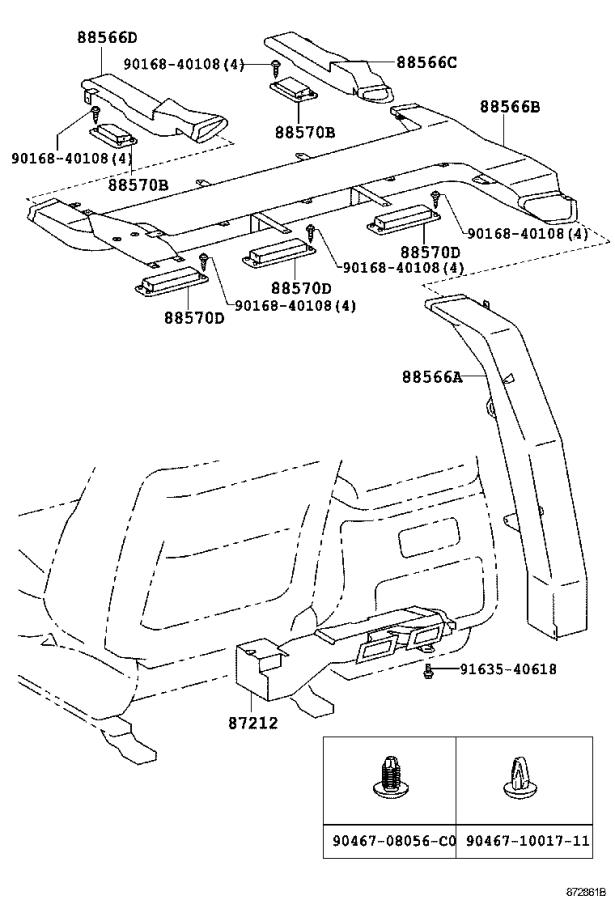 Toyota Land Cruiser Amplifier assembly, air conditioner