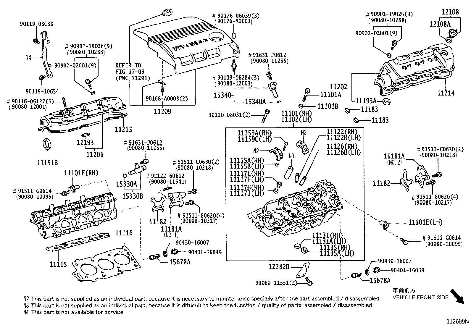 Toyota Sienna Engine Valve Cover Gasket Gasket