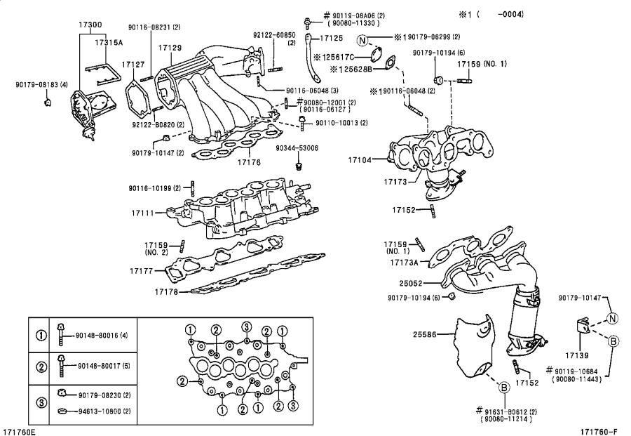 2001 Toyota Corolla Oem Parts Diagram Transmission. Toyota