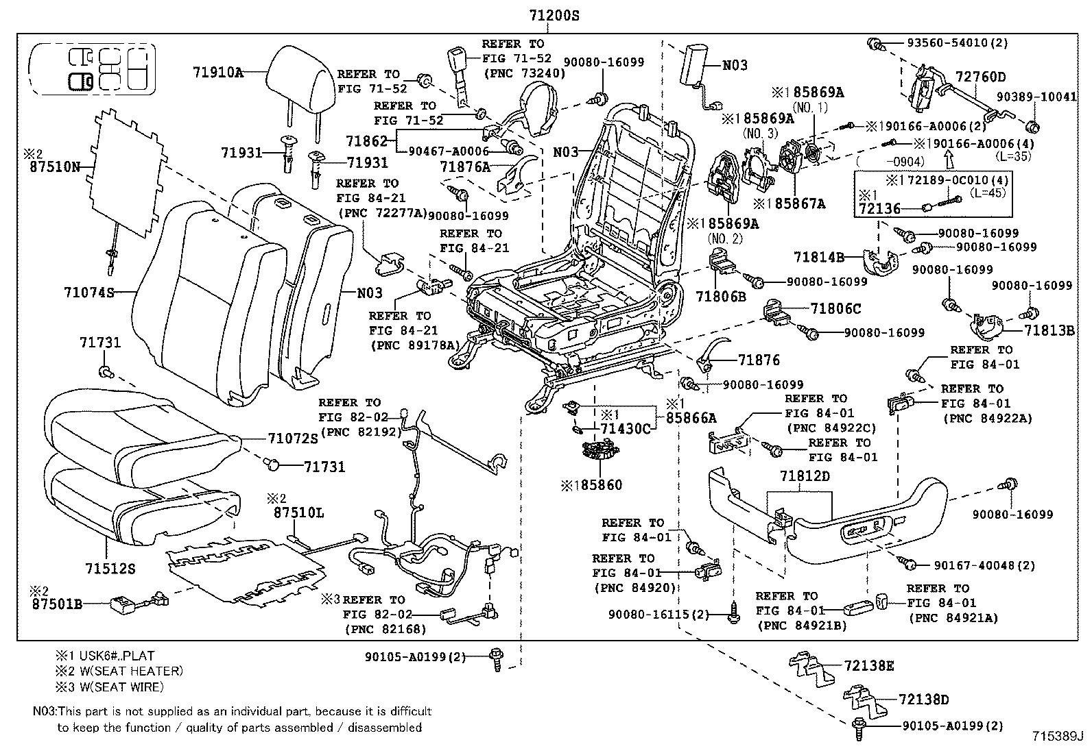 2008 Toyota Sequoia Interior Parts Diagram. Toyota. Auto
