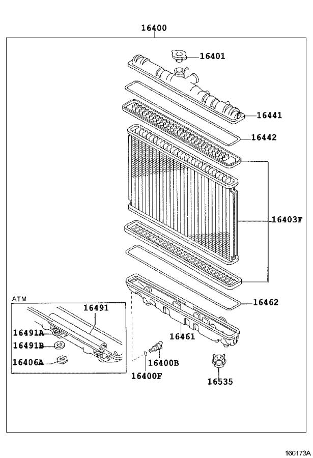 Toyota Corolla Support(for oil cooler). Engine