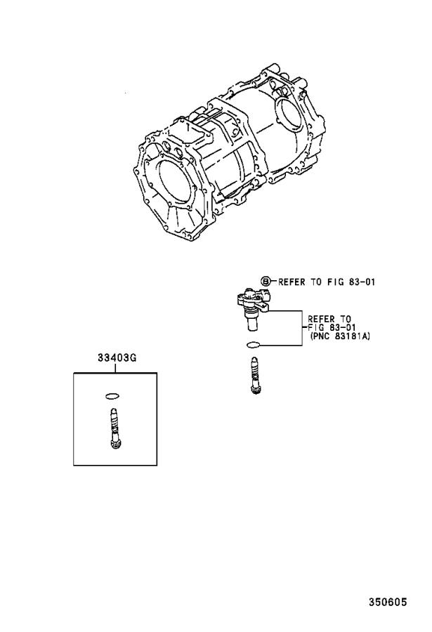 Toyota Tacoma Gear sub-assembly, speedometer driven (atm