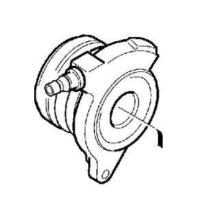 2006 Volvo V50 Clutch Release Bearing and Slave Cylinder
