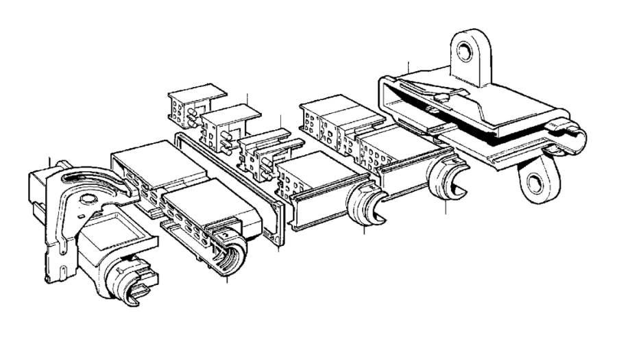2004 Volvo V70 XC Pin Housing. Automatic, Transmission