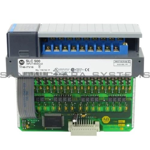 small resolution of allen bradley 1746 itv16 input module slc 500 product image