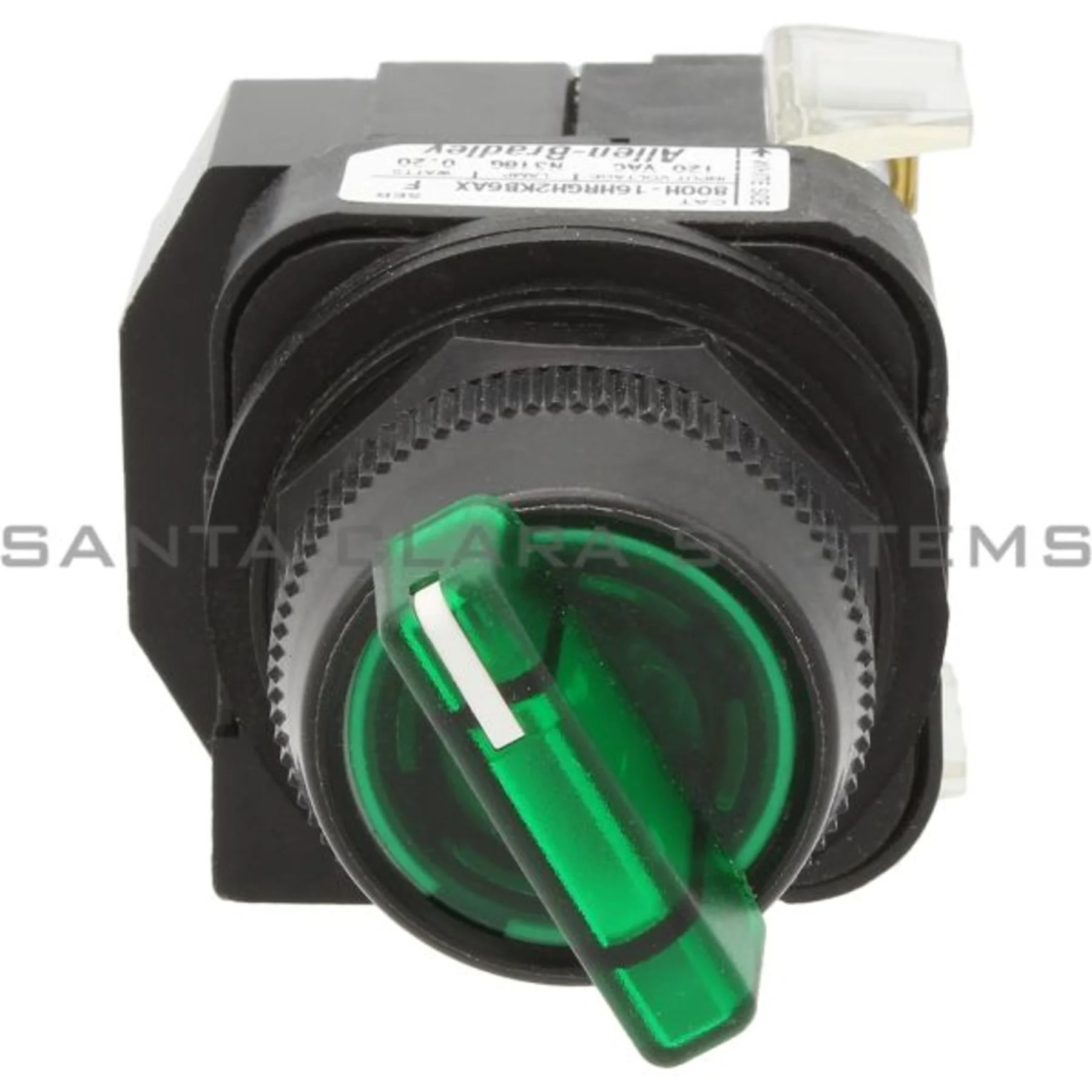 hight resolution of allen bradley 800h 16hrgh2kb6ax pushbutton switch product image