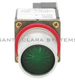 allen bradley 800mr qal24ga pushbutton switch product image [ 1800 x 1800 Pixel ]
